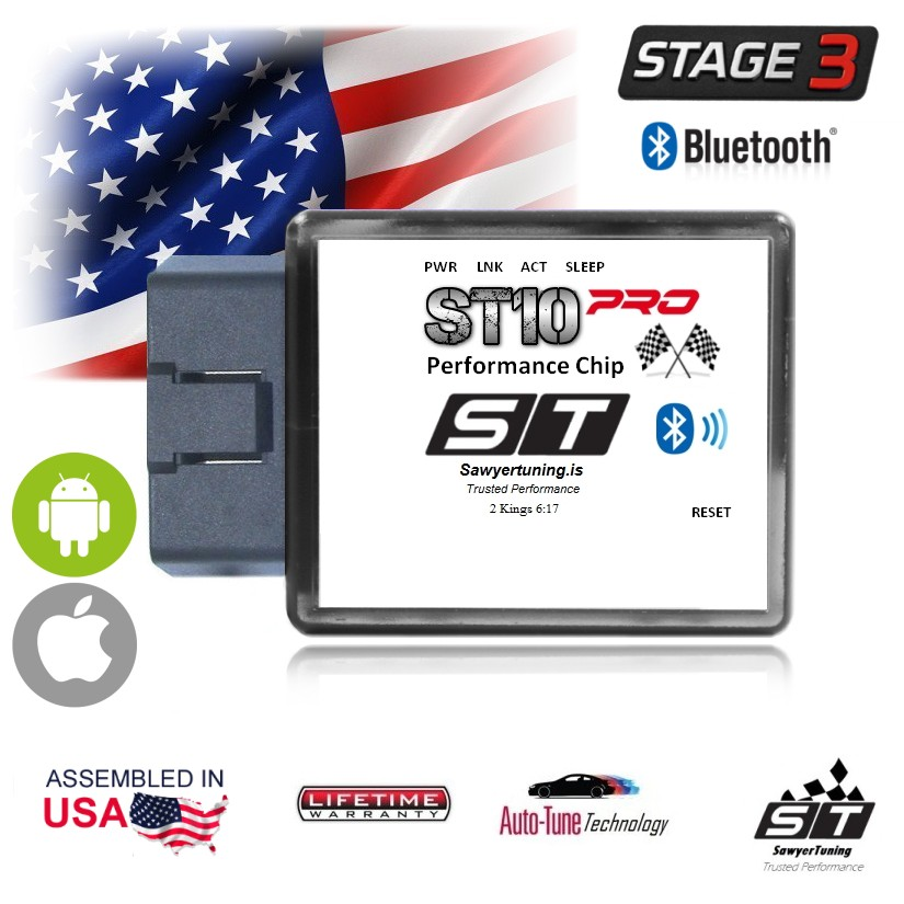 BETTER: ST10PRO Stage 3 OBD GAS / DIESEL Performance Chip