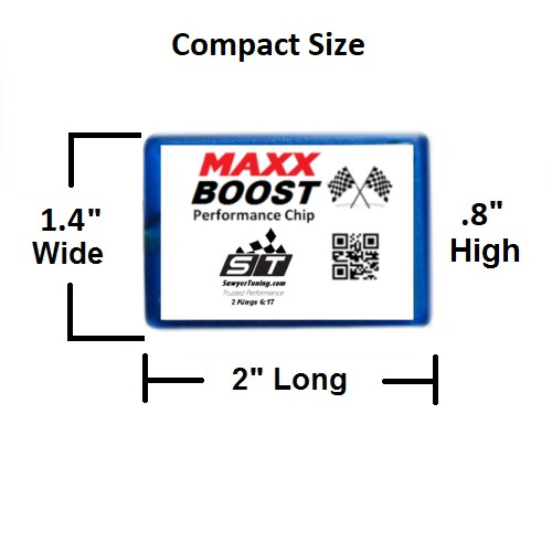 MAXX Boost Dimensions